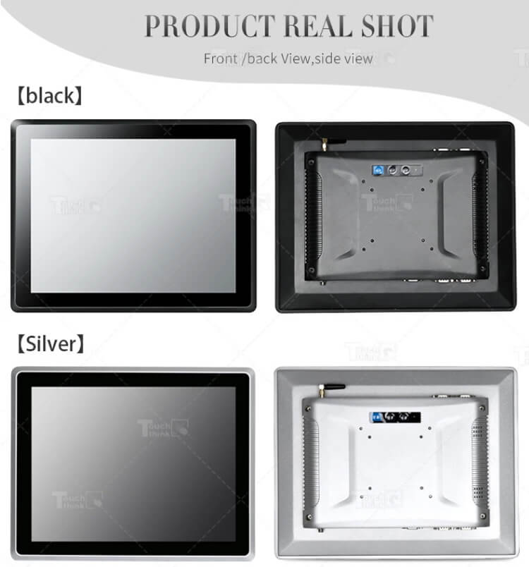 HMI Fanless Industrial Touchscreen All In One Panel PC 10.1""