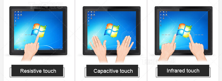 Resistive Touch AiO PC IP65 Waterproof 15""
