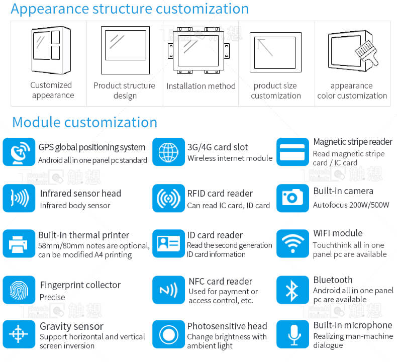 """Industrial Tablet with Android OS CE RoHS Approved 10.1"""""""