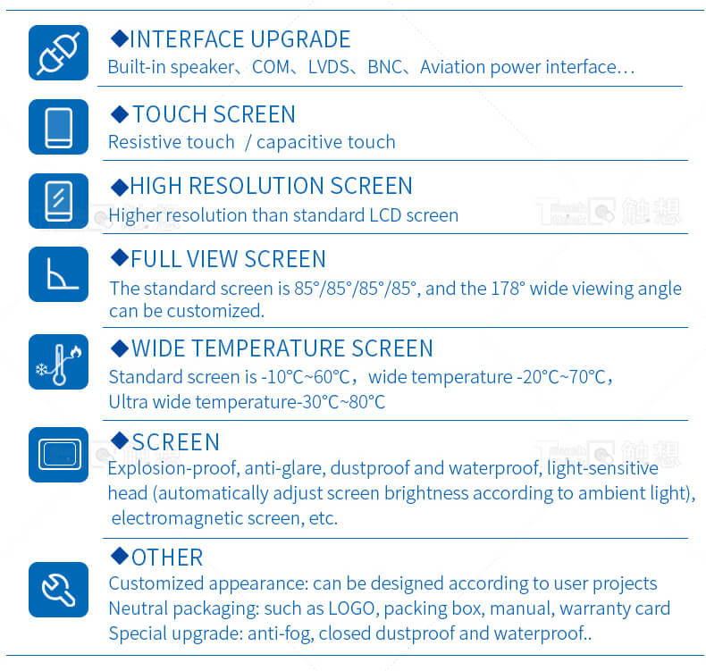 Industrial Touch Display Monitor Supplier 15.6""