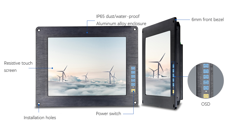 Industrial Touch Display