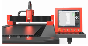 Industrial Touchscreen Monitor In Laser Cutting Machine