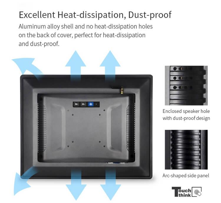 Industrial Tablet PC Used In Intelligent Temperature Measurement robot
