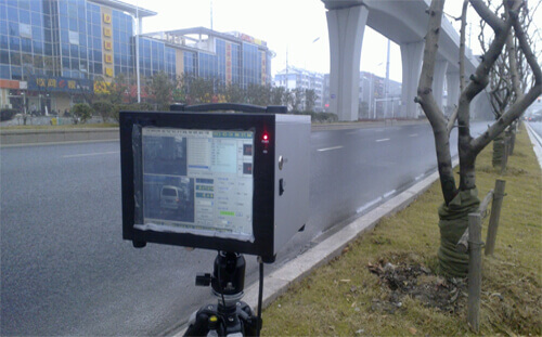 """7"""" Industrial Monitor Applies To The Portable Speedometer"""