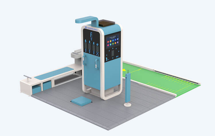 Industrial Touch Screen Monitor Used In Physical Fitness Testing Equipment