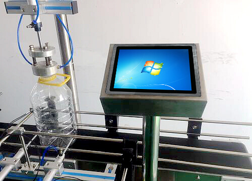 Industrial Panel PC Used In Automatic Leak Detection Equipment