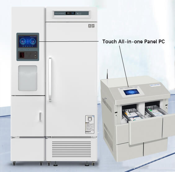 Industrial Touch All-in-one PC Is A Good Choice For Medical Refrigerators