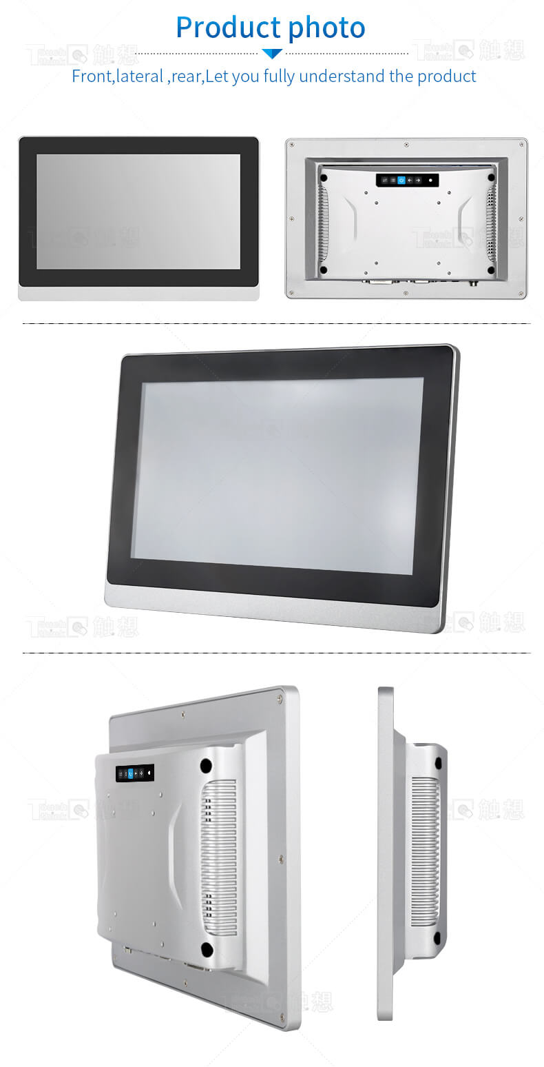 Embedded Industrial Display Touch Screen Monitor for Kiosk 17.3 inch