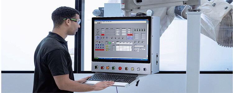 Touch Think Industrial Panel PC Applies To Intelligent Factory Solutions
