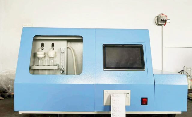 Industrial Panel PC Used In Automatic Sulfur Analyzer