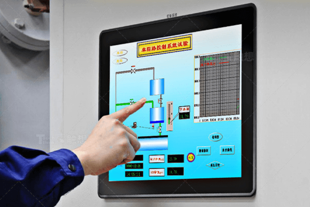 Industrial Monitor Used In Metal And Weight Detection System