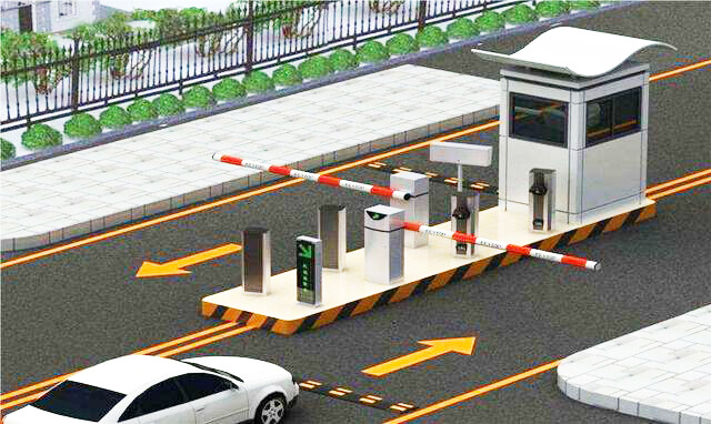 Industrial Panel PC-based Smart Parking Management System