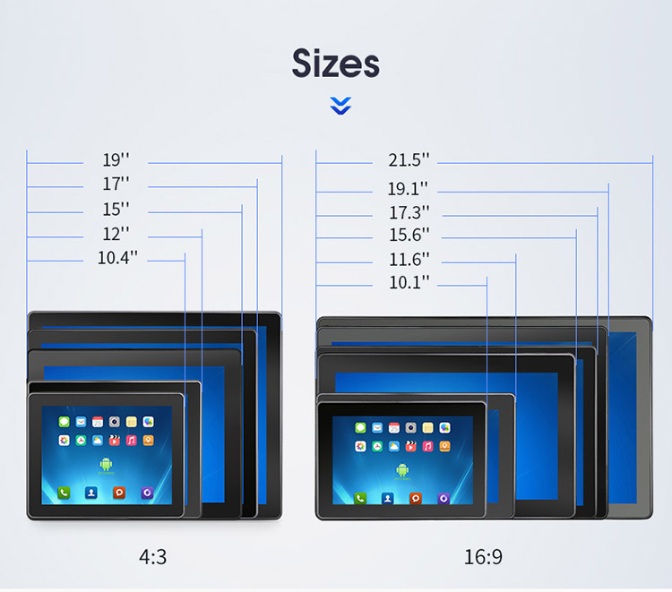 Industrial Android Tablet PC PoE Dual LAN Ethernet Android 6.0