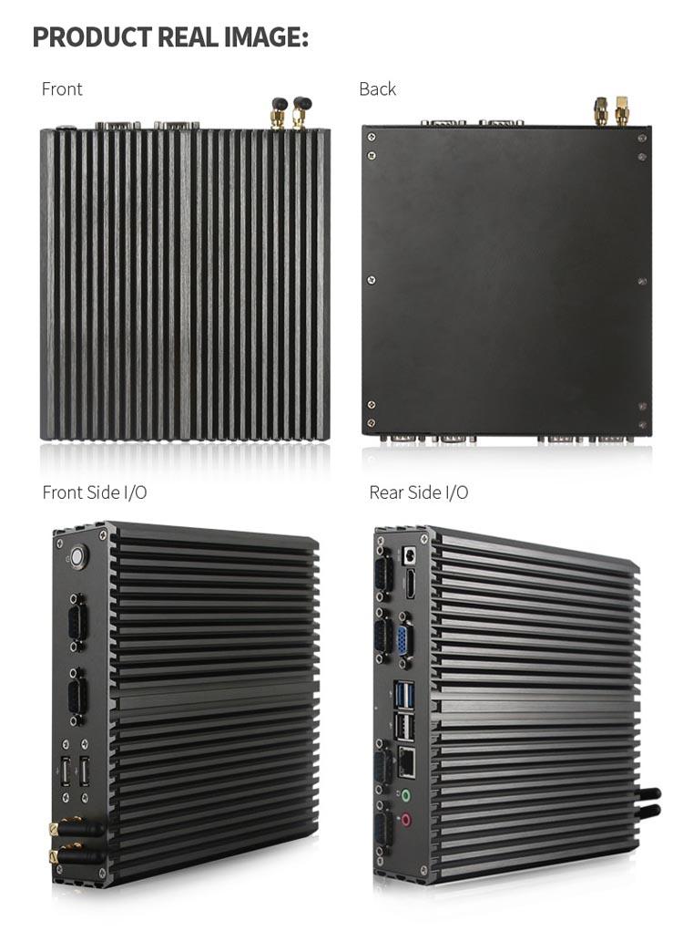 Industrial Mini PC Fanless Box PC