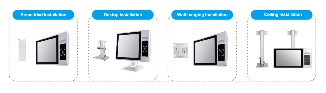 10.1 Inch Touch PC Based MES Hardware Terminals