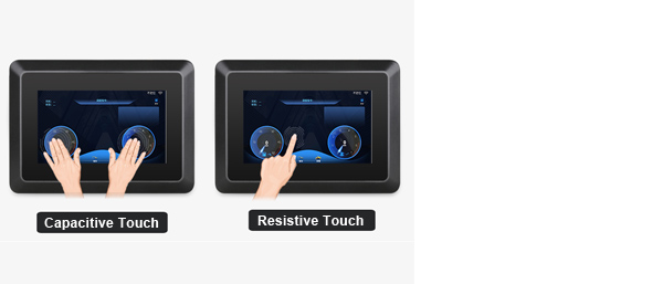 Small Size Industrial LCD Displays 7 inch Monitor 8 inch Touch Monitor