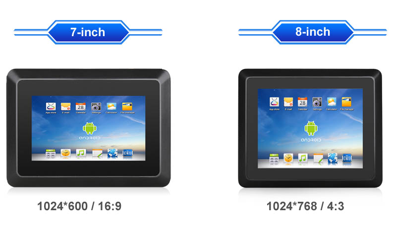 """Small Size Industrial Android 7"""" 8"""" Tablet PC"""