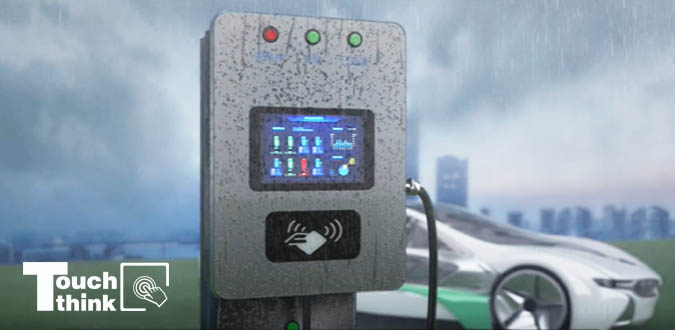 High Brightness Monitor Is the First Choice for Outdoor Intelligent Kiosks