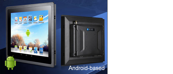 Android 9.0 Industrial Panel PC 21.5 Inch with 4G LTE WiFi Quad-Core For Meeting Room Smart Education