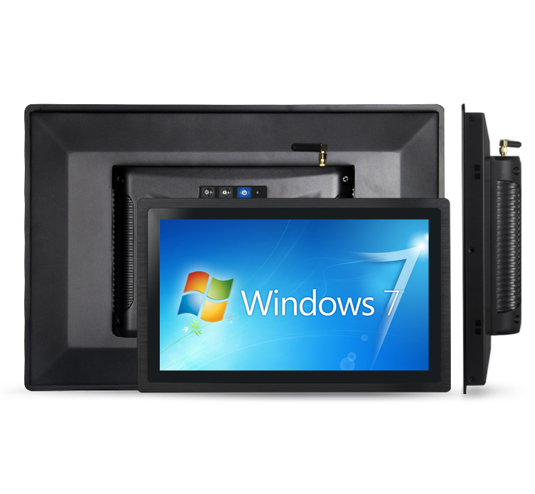HMI Fanless Industrial Touchscreen All In One Panel PC 10.1