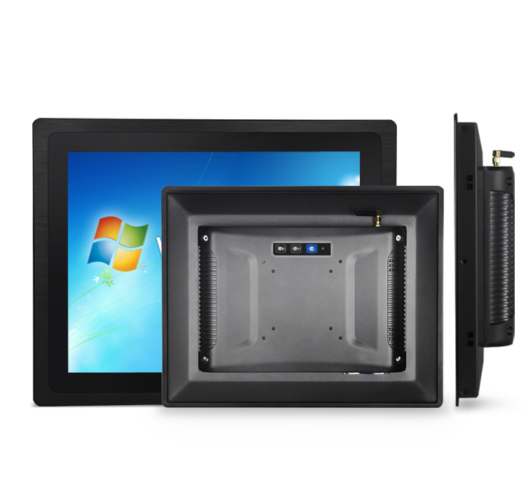 Industrial Touch Screen Panel PC All in One Linux 8 Inch