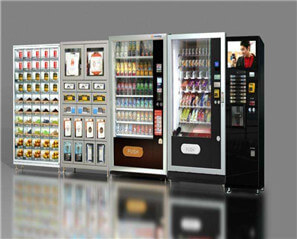 TouchThink 's  21.5-inch industrial Android AIO panel PC on the vending machine