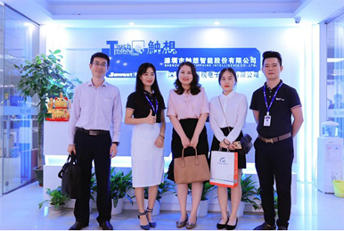 Visiting of Shenzhen SMEs Development Promotion Association
