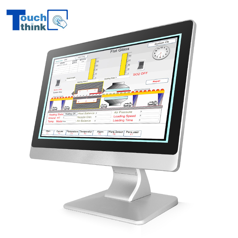 Sunlight Readable LCD Display Monitor Resistive 19.1
