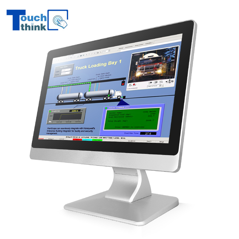 Industrial Single-Touch Touchscreen Monitor Displays 17.3 Inch