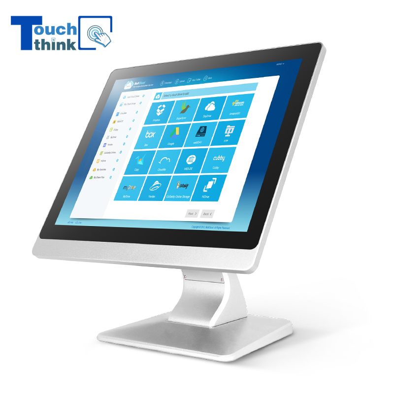 Flat Panel Industrial Monitor Square Screen HD 17 inch