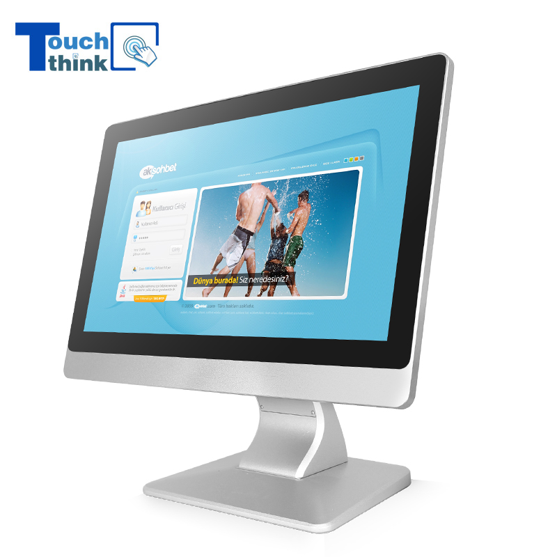 Rugged LCD Monitors Displays For Industrial Production 15.6