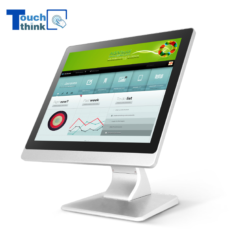 Industrial HMI Screen Touch Panel Monitor IP65 Waterproof 15 inch Embedded