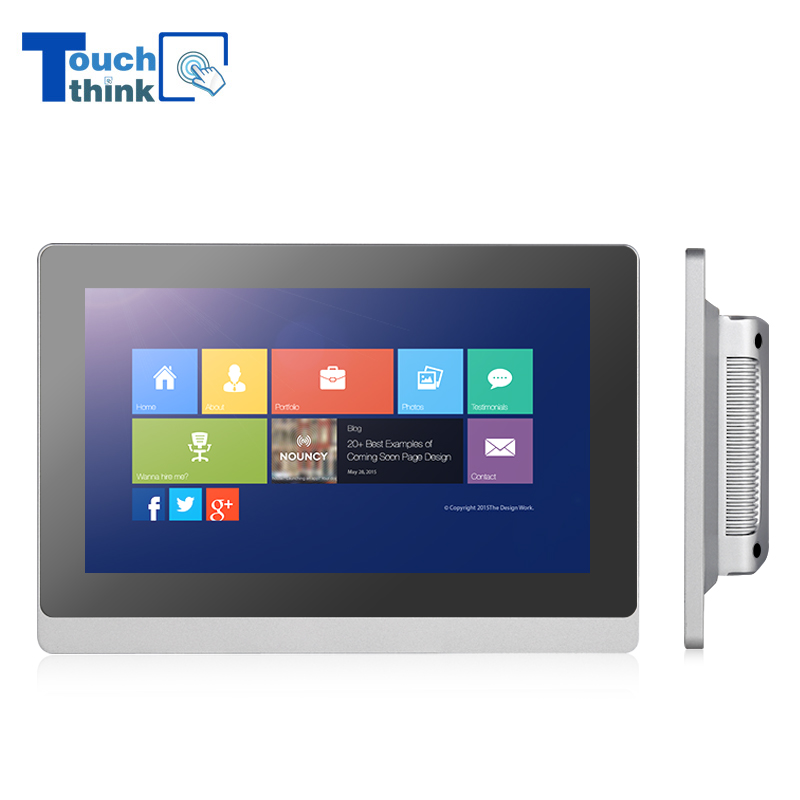 10.1 inch IPS Panel Industrial Touch Screen LCD Monitors