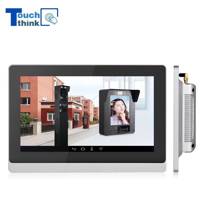 Android Interactive Touchscreen PC For Visitor Management Solutions 15.6
