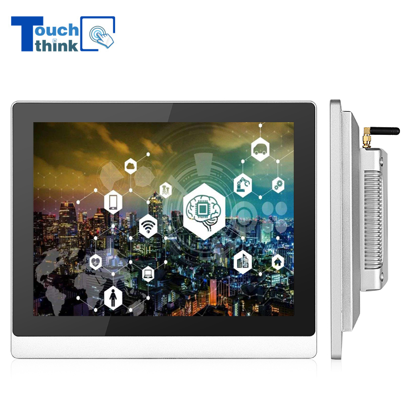 Android Industrial Computer All-in-one fanless Panel PC 17