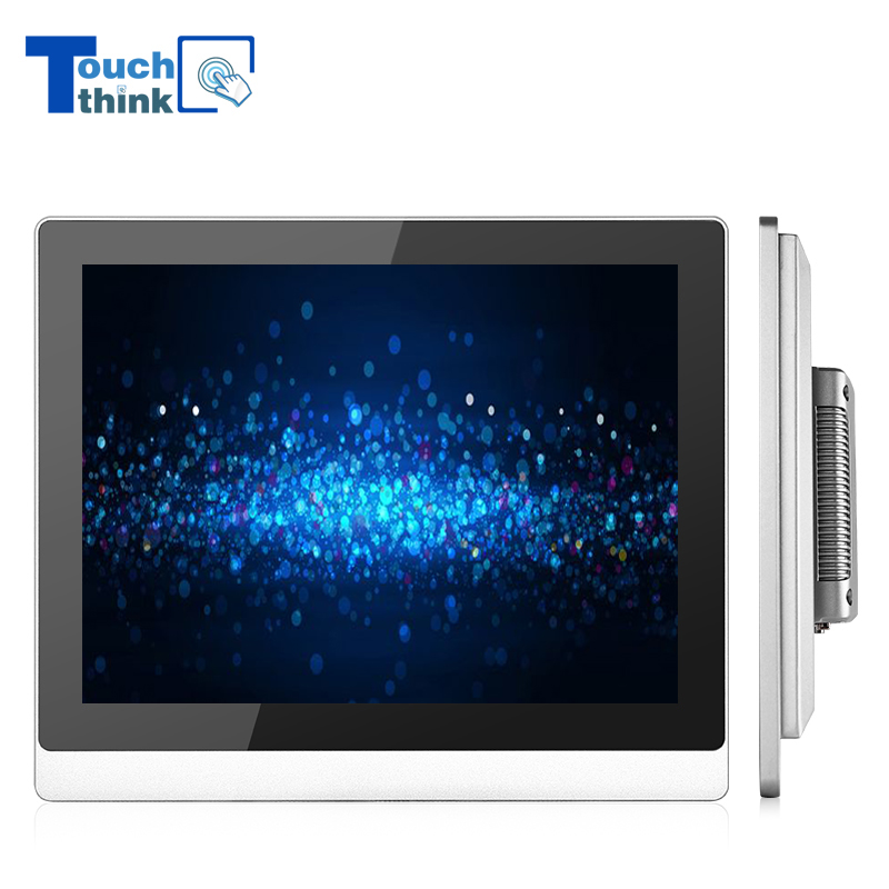 Flat Panel Capacitive Touch Screen Monitor 15 Inch