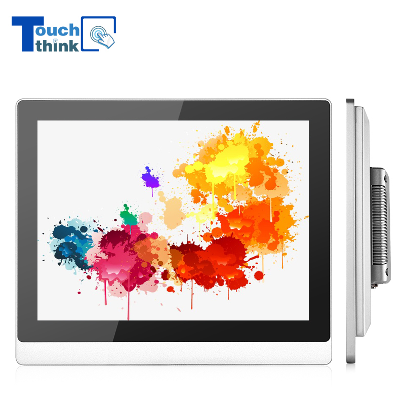 Multi Touch Capacitive Touch Screen Monitor Waterproof 17 Inch