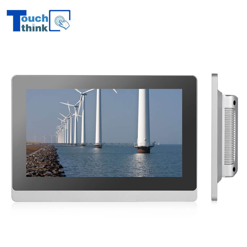 True Flat Capacitive Touch Screen IP65 21.5 inch