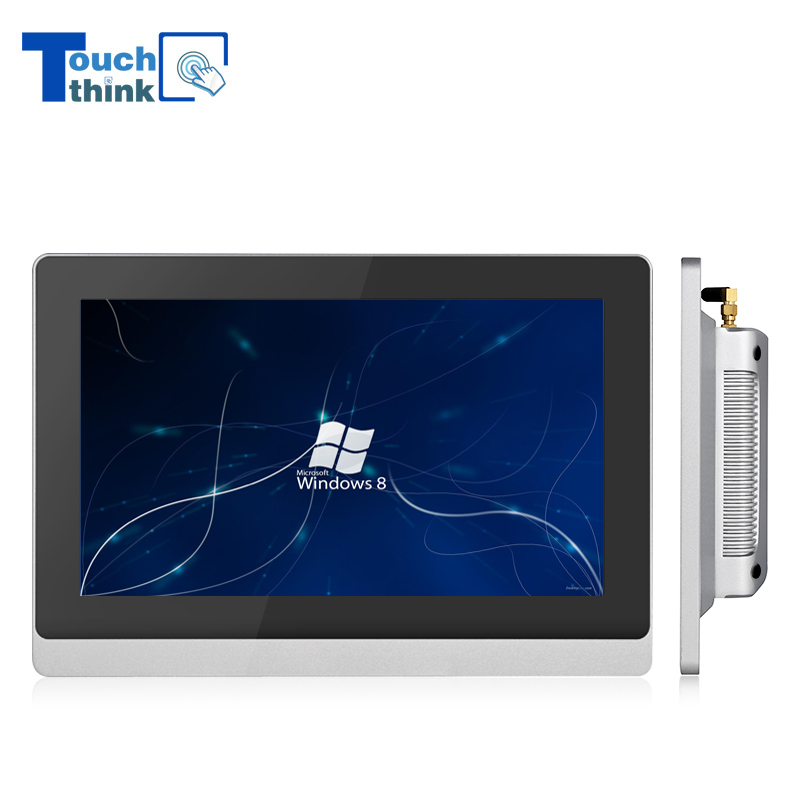 Industrial Panel PC Quad-Core Processor Wide Screen 15.6