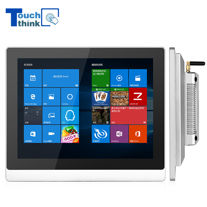 Industrial-Grade Touch Panel Computer for Food, Chemical and Outdoor Industries 10.4