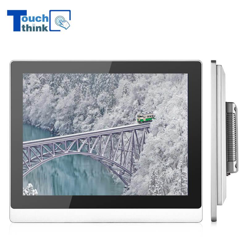 Rugged Design Industrial Monitor Aluminum Shell 19