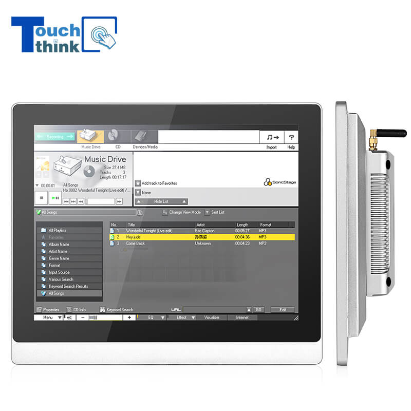 Android All In One Tablet PC With Industrial Use Touchscreen 8