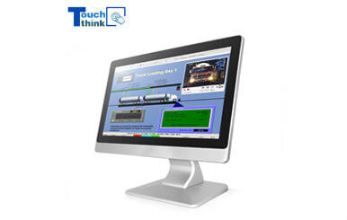 Industrial Desktop Monitor Used In Command and Dispatch System