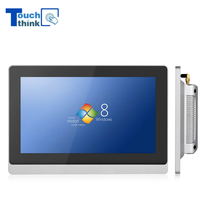 10.1 Inch 10mm Bezel Industrial Panel PC Monitor