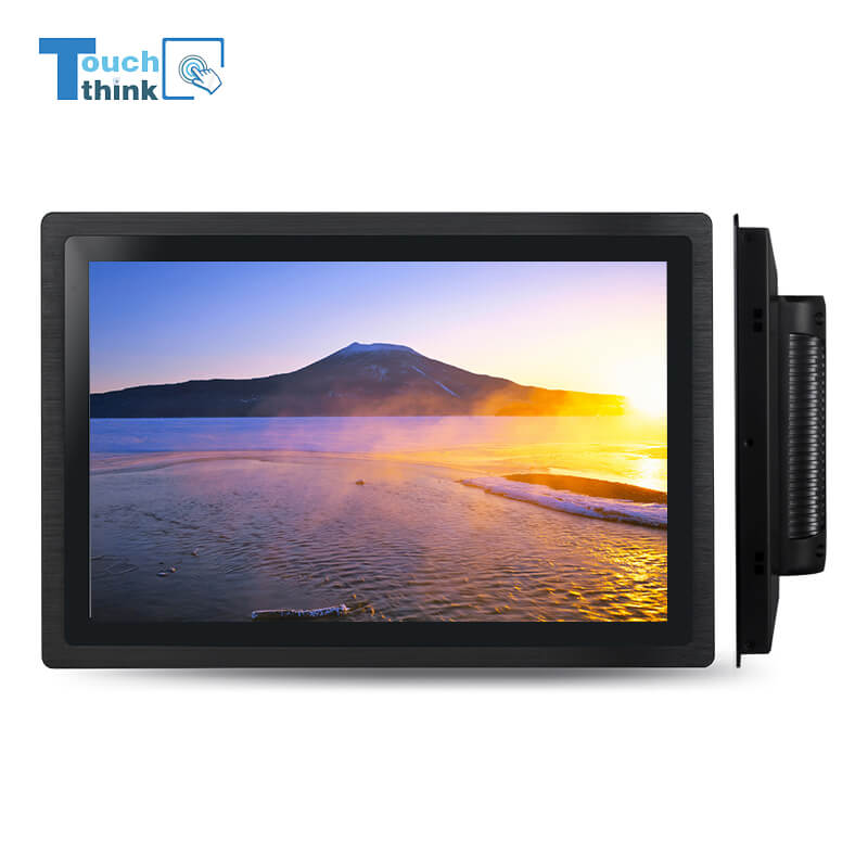Industrial Embedded TFT LCD Monitor with DVI/VGA/USB Ports 10.1 Inch