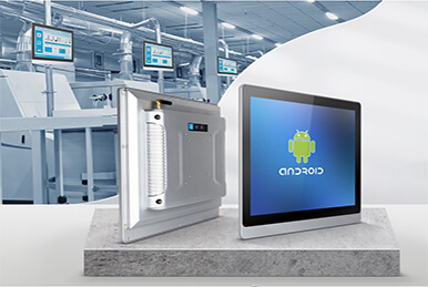 Customized Android all in one PC Used In Intelligent Production Line