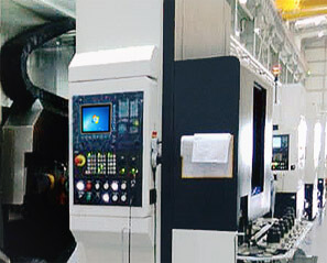 The PLC System With Ethernet Module to Communicate With Industrial Panel PC