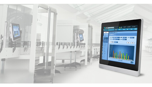 Industrial Touch Screen Monitor With 10mm Front Bezel