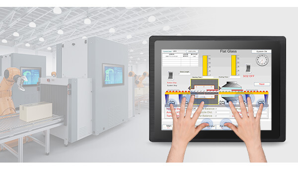 Capacitive Industrial Touch Screen Monitor
