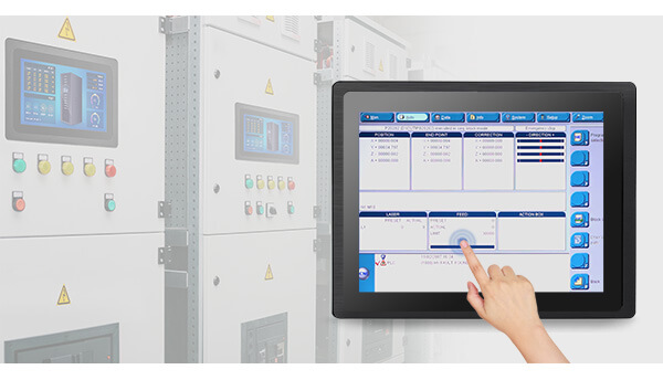 Resistive Industrial Touch Screen Monitor